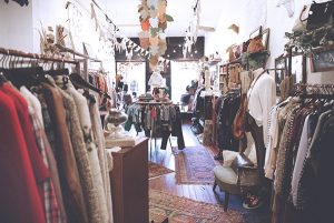 interior shot of store